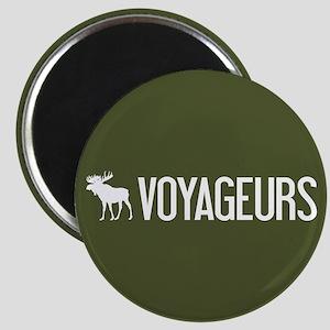 Voyageurs Moose Magnet