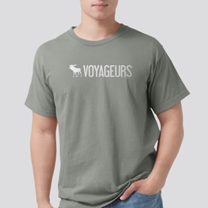 Voyageurs Moose Mens Comfort Colors Shirt