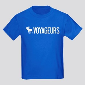 Voyageurs Moose Kids Dark T-Shirt