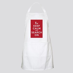 Keep Calm and Search On (Dog Team) Apron