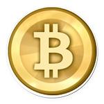Bitcoins-5 Round Car Magnet