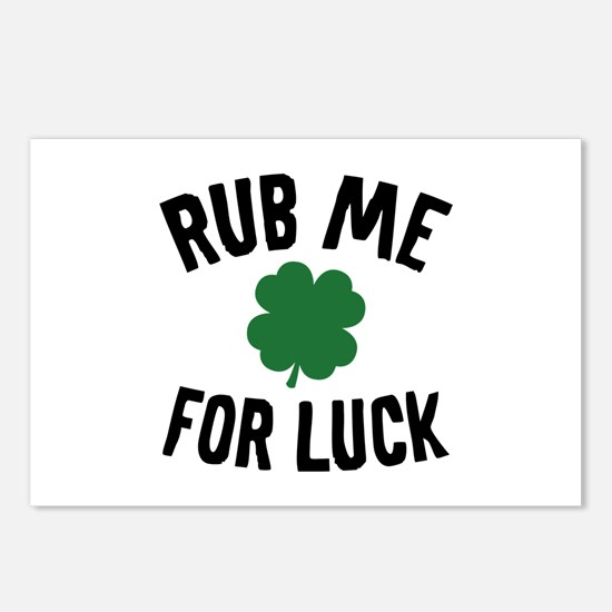 Rub Me For Luck Postcards (Package of 8)