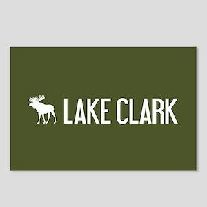 Lake Clark Moose Postcards (Package of 8)