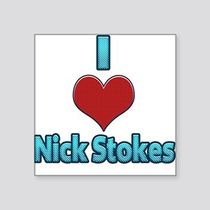 I heart Nick Stokes Sticker