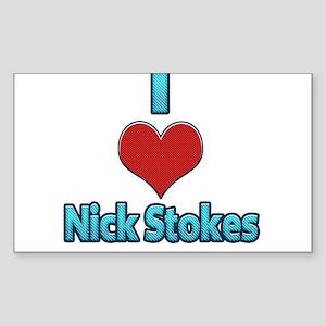 I heart Nick Stokes Sticker