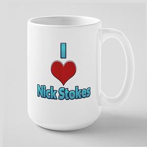 I heart Nick Stokes Mug