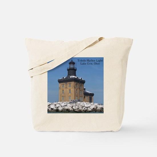 Toledo Harbor Light Tote Bag