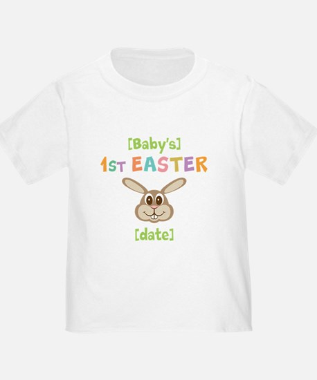 PERSONALIZE 1st Easter Bunny T