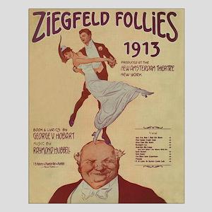 Ziegfeld Follies Vintage Small Poster