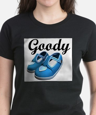 Goody Two-Shoes blue Women's Pink T-Shirt