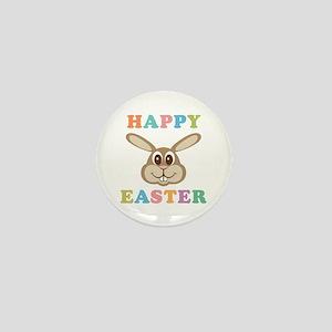 Happy Easter Bunny Mini Button