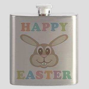 Happy Easter Bunny Flask