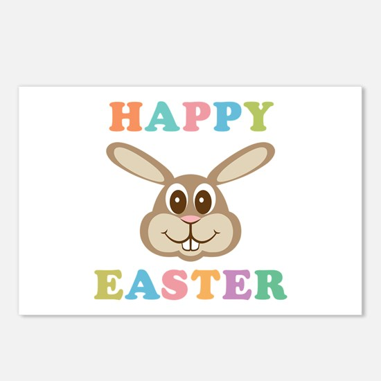 Happy Easter Bunny Postcards (Package of 8)