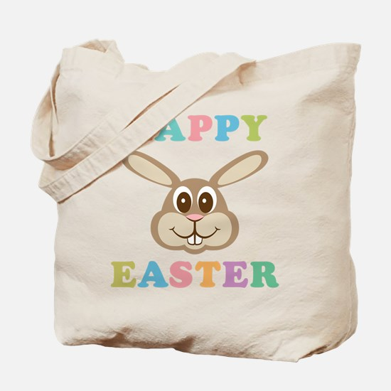 Happy Easter Bunny Tote Bag
