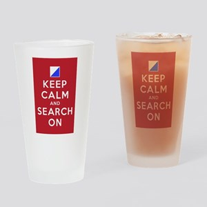 Keep Calm and Search On (Incident Base) Drinking G