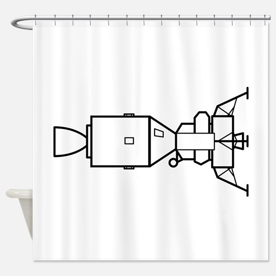 Ad Astra Per Aspera Shower Curtain