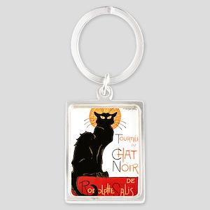 Tournee du Chat Steinlen Black Cat Portrait Keycha