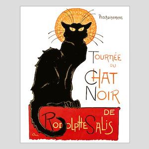 Tournee du Chat Steinlen Black Cat Posters