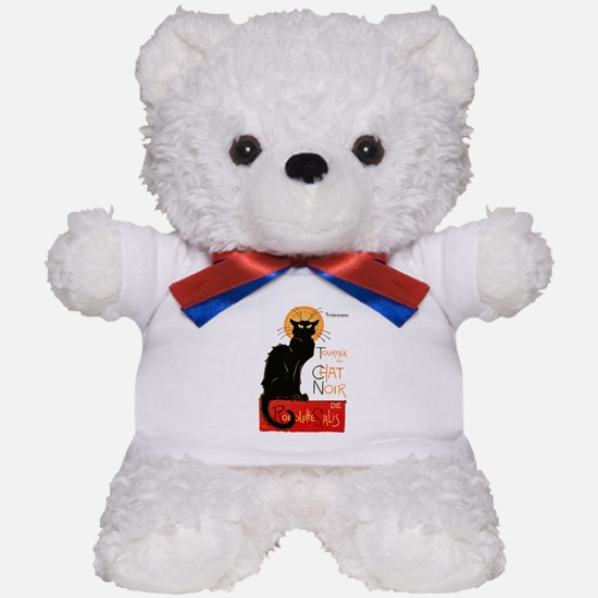 Tournee du Chat Steinlen Black Cat Teddy Bear