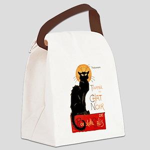Tournee du Chat Steinlen Black Cat Canvas Lunch Ba