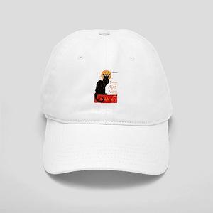 b0f4a888be6 Tournee du Chat Steinlen Black Cat Baseball Cap