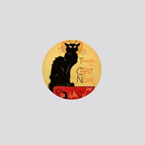 Famous black cat French Mini Button