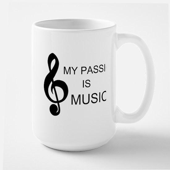 My Passion Is Music Mug