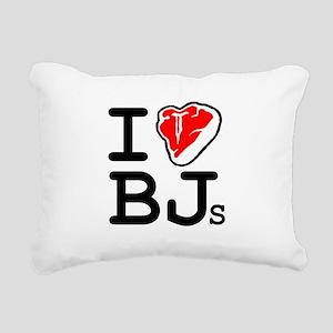 I Steak Blowjobs Rectangular Canvas Pillow