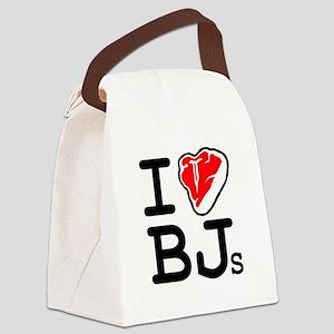I Steak Blowjobs Canvas Lunch Bag