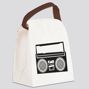 Stereo Canvas Lunch Bag
