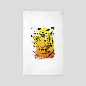 Tiger 3'x5' Area Rug