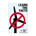 Learn the Facts Mini Poster Print