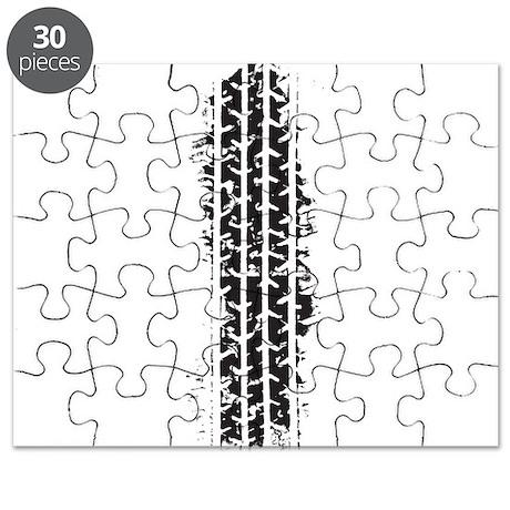 Tire Track Puzzle