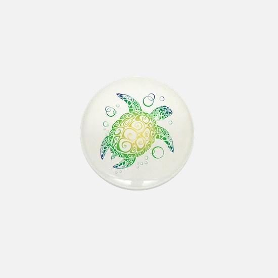 Sea Turtle Mini Button