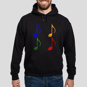 Eighth Note Pop Art Hoodie