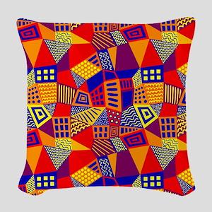 Segmented Abstract 070717 - Co Woven Throw Pillow