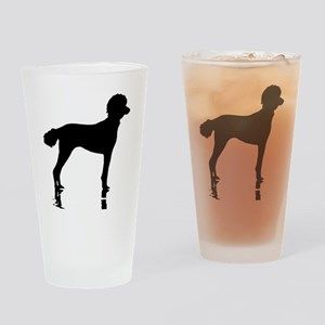 Poodles Are Perfect Drinking Glass