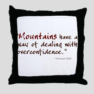 'Mountains' Throw Pillow