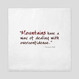 'Mountains' Queen Duvet