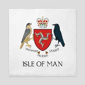 Isle of Man coat of arms Queen Duvet