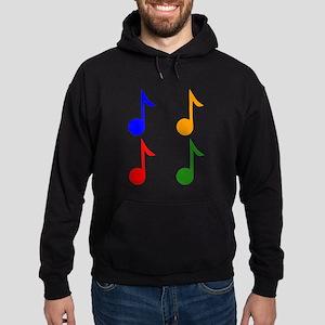 Eight Note Pop Art Hoodie