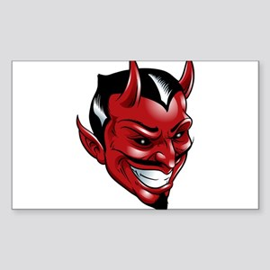Devil Red Sticker