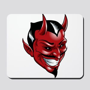 Devil Red Mousepad