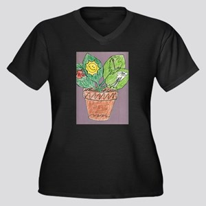 Christophers Plant. Plus Size T-Shirt