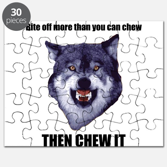 Courage Wolf Puzzle