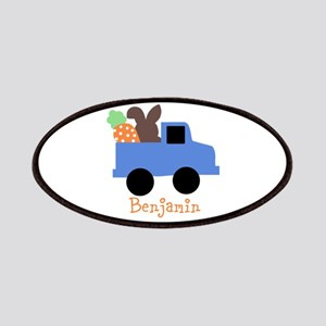 Easter time truck personalized Patches