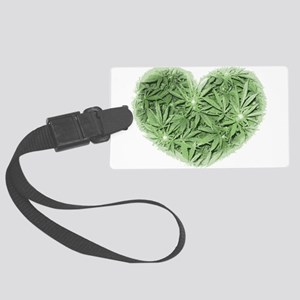 Pot Heart Luggage Tag