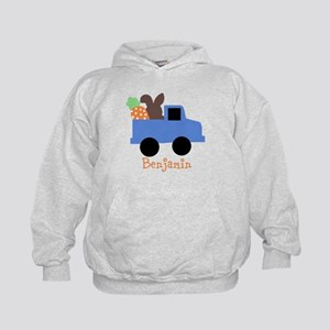 Easter time truck personalized Hoodie