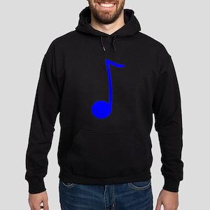 Blue Eighth Note Hoodie