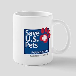 Save U.S. Pets Logo Mug